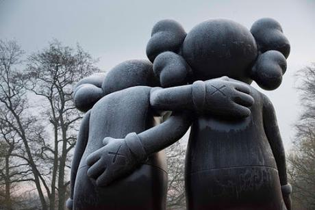 KAWS first UK museum show at Yorkshire Sculpture Park