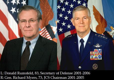 Donald Rumsfeld, Secretary of Defense 2001-2006