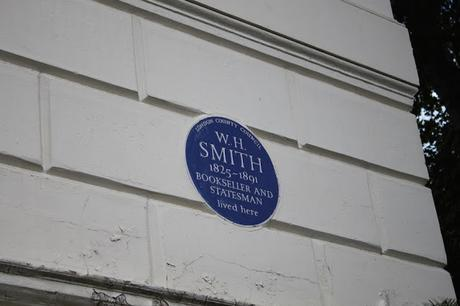 #plaque366 W.H Smith