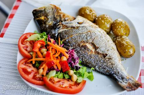 dourada (sea bream) @ Micha Bar, Vila Nova de Gaia