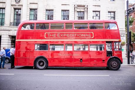 Routemaster bus outside Camden town Hall