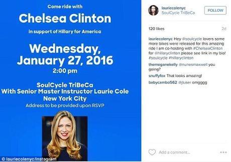 chelsea clinton fundraising