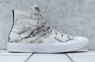 Etched In Marble Converse Chuck Ii Fs White Marble Pack