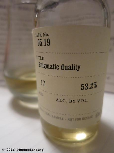Whisky Review – SMWS Cask No. 95.19, Enigmatic Duality