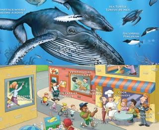 Image: Marine Life and Bilingualism at Work posters