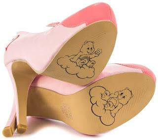 Shoe of the Day | Iron Fist Carebears Stare Platform Pump
