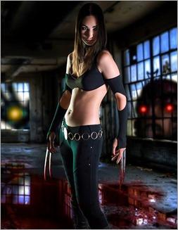 Vanessa Wedge as X-23, Marvel vs Capcom 3 version (Photo by Adam Woz)