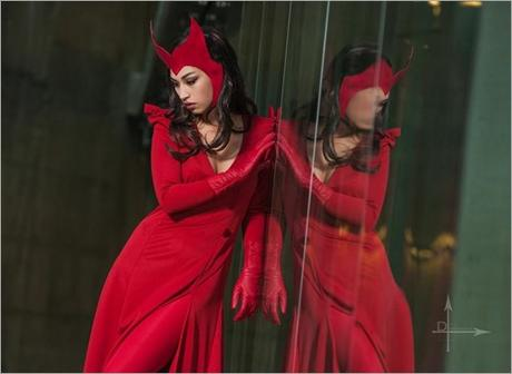 Vanessa Wedge as Scarlet Witch (Photo by DMacStudios)