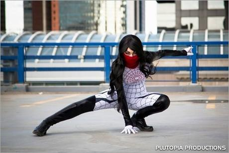 Vanessa Wedge as Silk (Photo by Plutopia Productions)