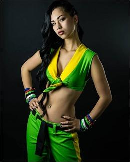 Vanessa Wedge as Laura Matsuda (Photo by Adam Woz)