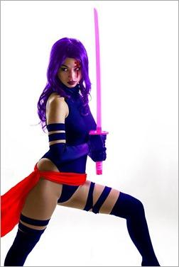 Vanessa Wedge as Psylocke (Photo by Adam Woz)