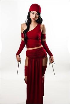 Vanessa Wedge as Elektra (Photo by Adam Woz)