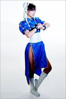 Vanessa Wedge as Chun-li, Street Fighter (Photo by Adam Woz)
