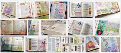Bible art journaling: No, no, no (reprise)