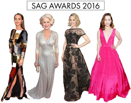 Best Dressed @ the SAG Awards via {what you fancy}