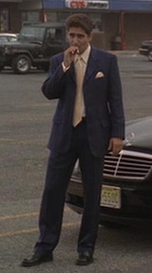 The Sopranos Christopher S Blue Herringbone Made Man