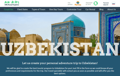 How to get a letter of invitation for visiting uzbekistan paperblog use silk road explore to plan your uzbekistan trip stopboris Images