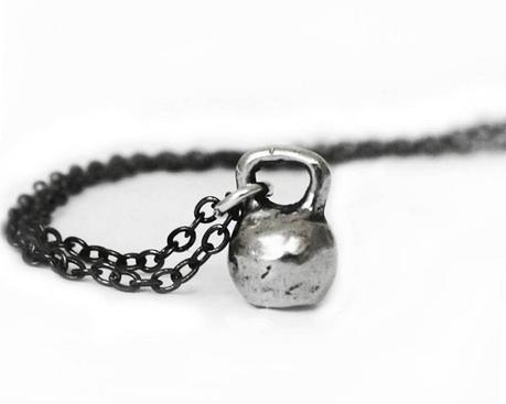 2015 Gift Guide - Kettebell Charm Chain