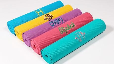 2015 Gift Guide - Custom Yoga Mat
