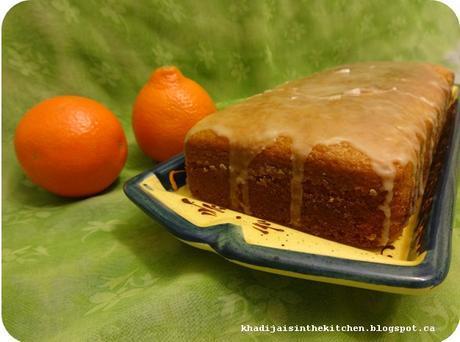 GÂTEAU À L'ORANGE (SANS OEUF) / EGGLESS ORANGE CAKE / BIZCOCHO DE NARANJA (SIN HUEVOS) / (حلوى بالبرتقال (بدون بيض