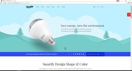 SEO Optimized WordPress Theme 2016 - QShop Ecommerce