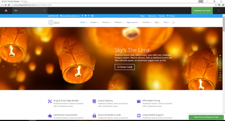 Divi WordPress Premium Theme - the best wordpress template