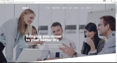 wordpress theme for business seo friendly