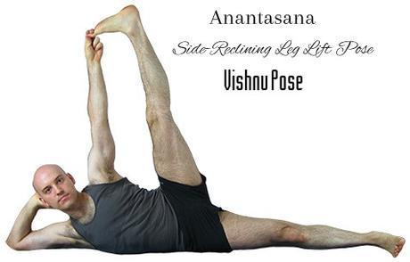 Anantasana or Vishnu pose