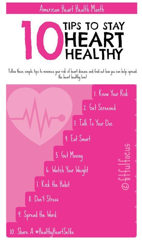 10 Tips to Stay Heart Healthy