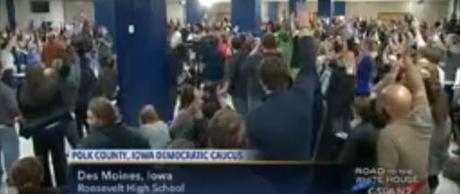 Polk County Iowa Democratic Caucus Feb. 1, 2016