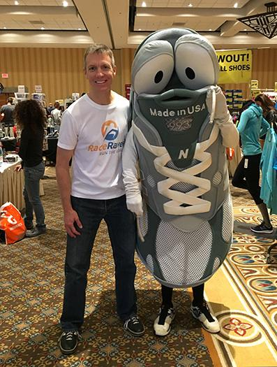 Mike Sohaskey at Tuscon Marathon Expo