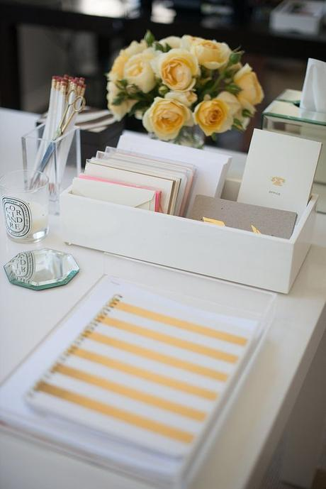 Inside This PR Maven's Stylish Office ( tray used to contain notes etc.):