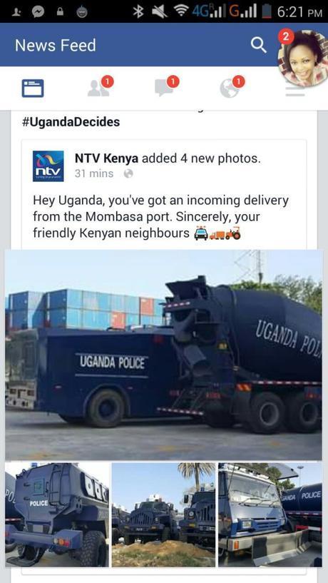 #UgandaDecides