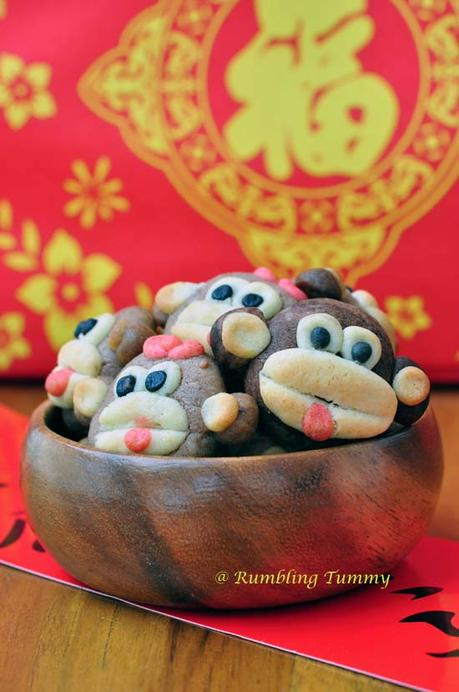 Year of Monkey cookies