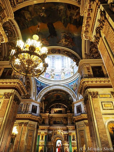 帝政ロシア威信をかけたイサク大聖堂 / Saint Isaac's Cathedral,  the largest orthodox basilica and the fourth largest cathedral in the world.