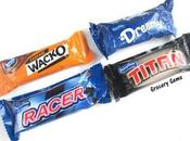 Review: Aldi Chocolate Bars Racer, Titan, Dreemy Wacko