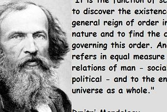 Dmitri mendeleev creator of periodic table and also created the dmitri mendeleev creator of periodic table and also created the russian chemical society paperblog urtaz Choice Image