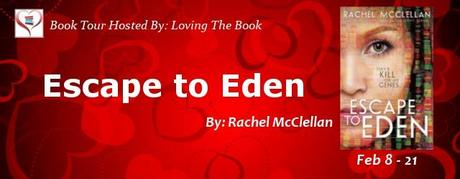 Escape to Eden by Rachel McClellan Blog Tour