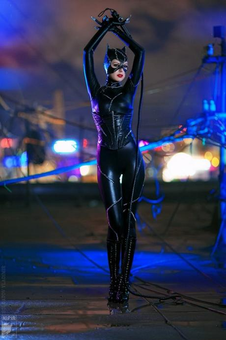 best cosplay of the week  catwoman  harley quinn