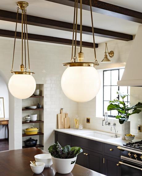 Montage 15 Kitchens Mixing Sconces And Pendant Lights