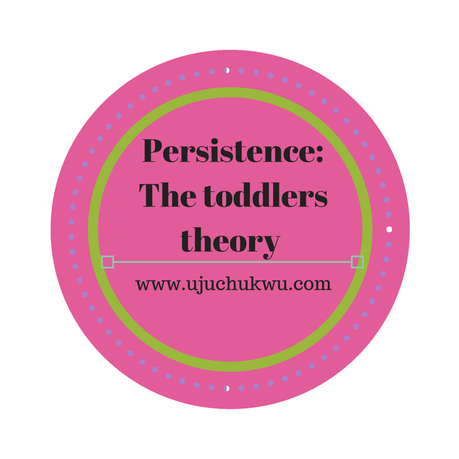 Persistence: The Toddler's Theory