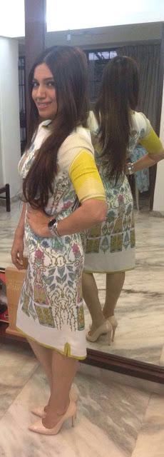 SPOTTED | Bhumi Padnekar in Beige Heels by Fabi