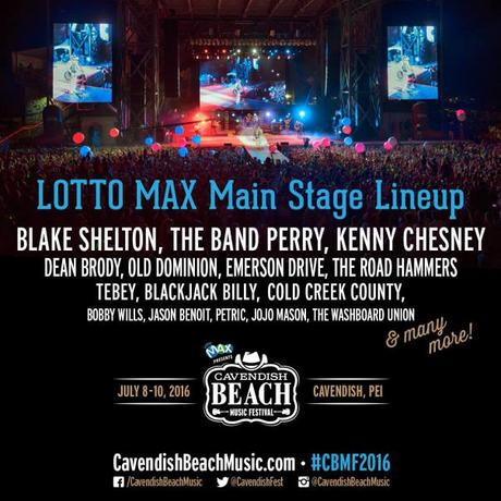 Cavendish Beach 2016 Main Stage Artists