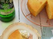 Elderflower Lemon Drizzle Cake