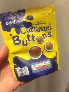 Aldi Dairyfine Caramel Buttons Review