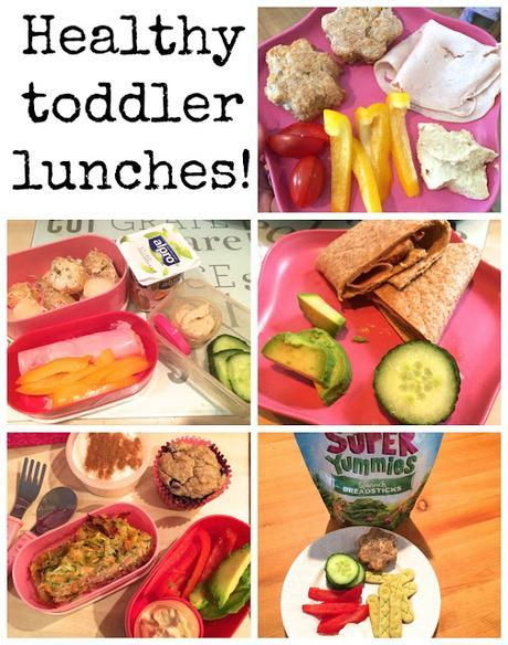 Nutrition | Healthy toddler lunches #2!