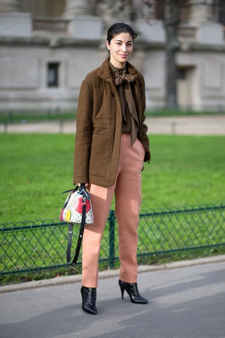 Street Style Paris Haute Couture 2016 Caroline Issa