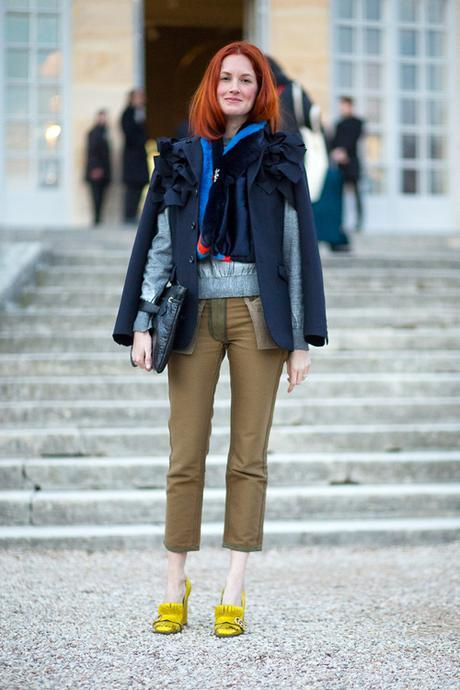 Street Style Paris Haute Couture 2016 Taylor Tomasi Hill