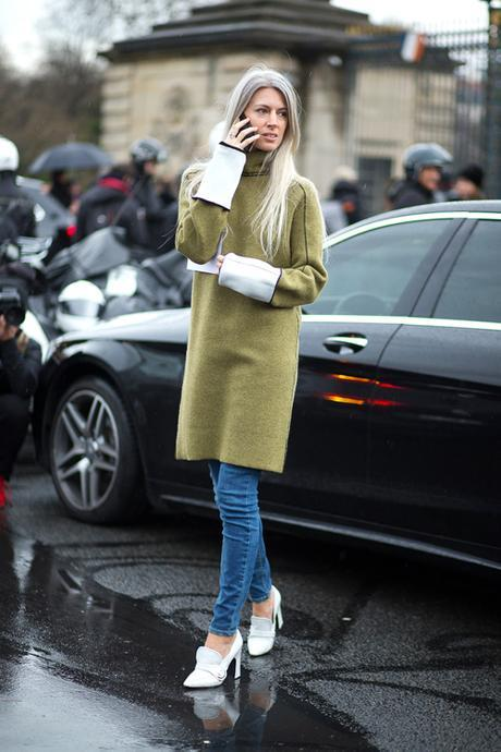 Street Style Paris Haute Couture 2016 Sarah Harris