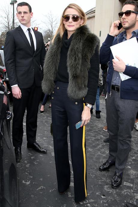 Olivia Palermo Street Style Paris Haute Couture 2016